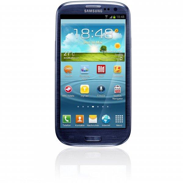 Samsung Galaxy S3 i9300 16GB Pebble Blue für 169 € bei getgoods.de