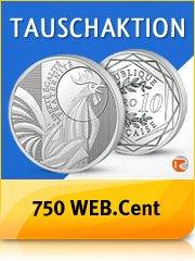 10,- Euro Münze für 13,95 Euro + 7,50 Euro Gutschein = 3,55 Euro Gewinn