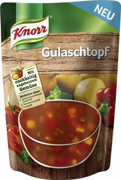 Knorr Gulaschtopf 6er Pack (6 x 390 g) kostenlos bei Bestellung über Prime oder als Sparabo (Ohne Prime 3€ Versand)