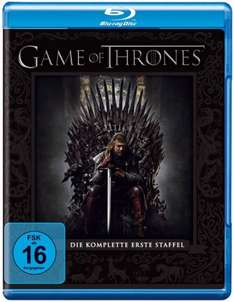 Game of Thrones Staffel 1 und 2 [Blu Ray] jeweils 14,97€ und Staffel 3 22,97€ @Amazon Blitzangebote (mit Prime)