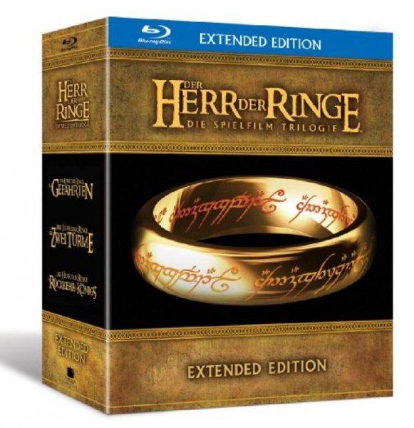 Der Herr der Ringe Trilogie Blue Ray @ Amazon Blitzdeals für 44,97