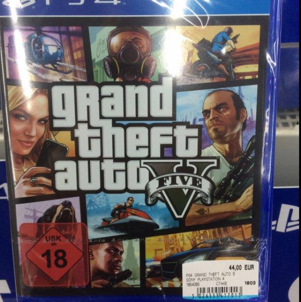 [Lokal Media Markt Halberstadt] GTA 5 PS4