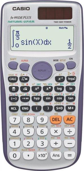 [Amazon Prime] Casio FX991DE Plus Taschenrechner für 18,69€ *** Casio FX812DE für 14€