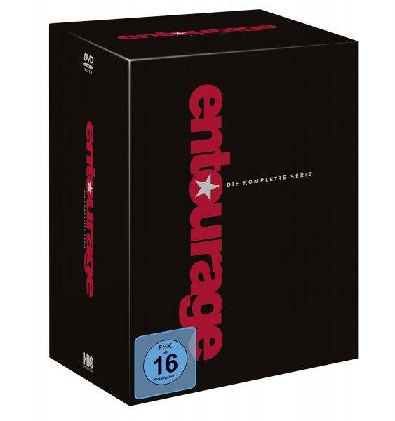 (Vorbestellung für 11.Juni) Entourage - Die komplette Serie (Staffel 1-8) deutsch (exklusiv bei Amazon.de) [Limited Edition] [33 DVDs]