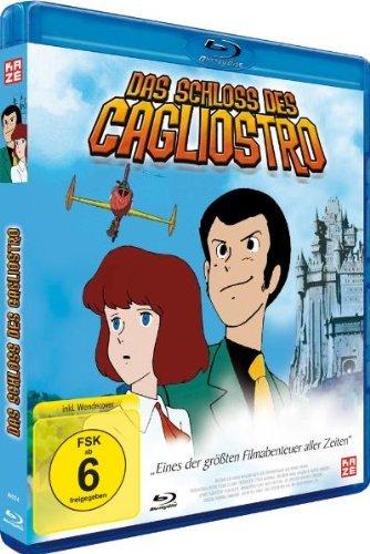 [Amazon.de] Das Schloss des Cagliostro [Blu-ray] Anime ab 9,97€