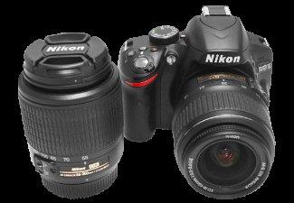 Saturn: Nikon D3200 Spiegelreflexkamera inkl. zus. Objektiv 55-200mm
