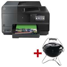 HP OfficeJet Pro 8620 plus Weber Grill Smokey Joe Premium bei Office-Discount