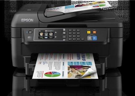 Epson WorkForce WF-2660DWF Tintenstrahl-Multifunktionsgerät (Drucken, Scannen Kopieren und Faxen)