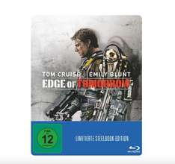 Edge of Tomorrow (Steelbook Edition) - ( Blu-ray) für 9,99€ @ Saturn Filialen