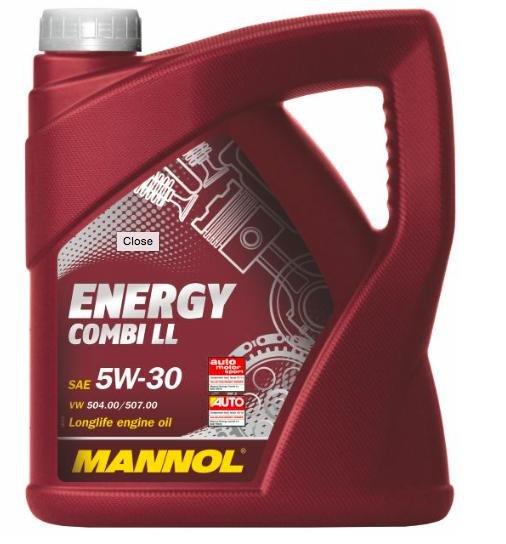 Mannol 5W-30 (Longlife) Motorenöl 5 Liter