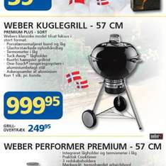 Weber Premium Plus in Dänemark