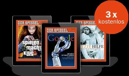 Spiegel Digital 3 Ausgaben gratis - selbstendend! @spiegel.de