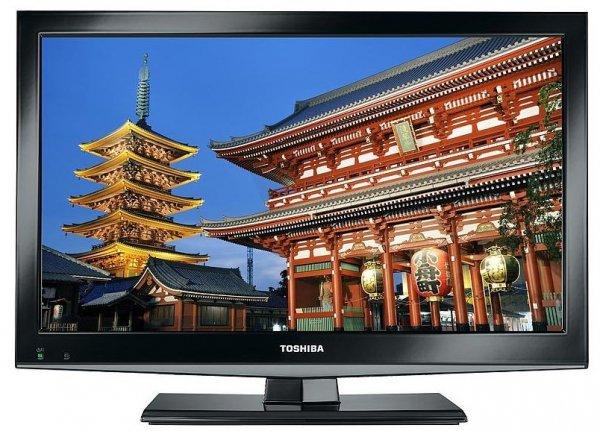 Toshiba 22BL712 LED-TV mit DVB-C/-T-Tuner für 139,90