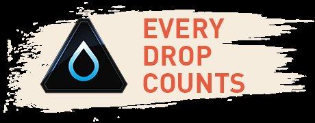 """Reebok Reewards """"Every Drop Counts"""" Trinkflasche / Stempel / Intersport Gutscheine"""