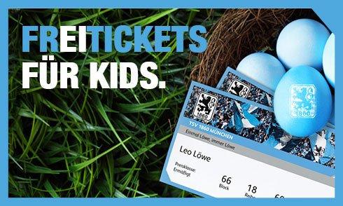 [lokal München] Freier Eintritt für Kinder unter 14 in Begleitung von mind. einem Erwachsenen für das Spiel 1860 München - Erzgebirge Aue am 05.04.2015 um 13:30 Uhr