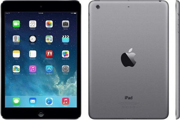 [Saturn LNS] APPLE iPad Mini Retina 32 GB WIFI Spacegrau oder silber für 299 € + 5 € Newslettergutschein, VSK-frei