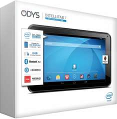 "Odys™ - 7"" Tablet-PC ""Intellitab 7"" (Atom Z2520 2x1.20Ghz,1024x600,1/8GB RAM,Android 4.4) für €49.- [@Redcoon.de]"