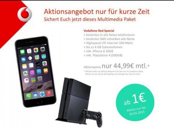 Vodafone Vertrag Rechnerisch 5.55€ Im Monat