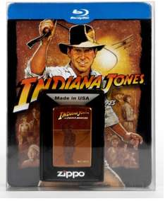 Indiana Jones – The Complete Adventures: Limitiertes Steelbook inkl. Zippo - (5 Blu-ray) für 29€ bei Saturn online