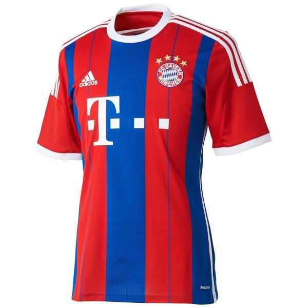 (Amazon) adidas Herren Trikot FC Bayern München Replica Heim 14/15 in L