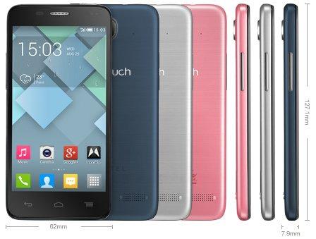 [Saturn.de] Alcatel One Touch Idol 2 Mini Grau oder Blau = 89€ bzw. 84€ (mit Newsletter Gutschein) Nächster Preis 131,99€