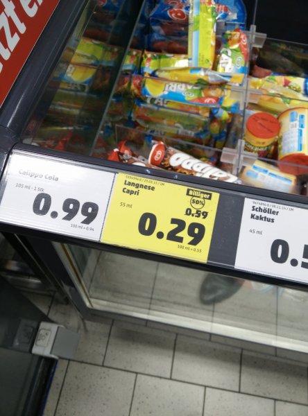[LOKAL!?] Langnese Capri @Penny Freiburg für 0,29 € ( -50%)