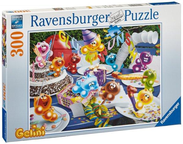 [Amazon Prime] Ravensburger 13096 – Gelini: Geburtstagsparty, 300 Teile XXL Puzzle für 4,55€
