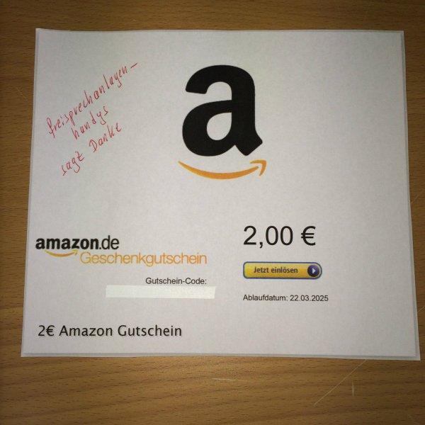Amazon 2€ GS für 1€ @ebay