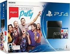 [ LOKAL Saturn Hagen ( NRW ) ] Playstation 4 500 GB Black + Singstar Ultimate Party