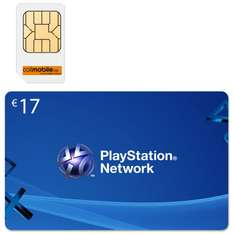 Callmobile Clever9 + 17,00 Euro Sony PlayStation Network Code Card Guthaben PSN