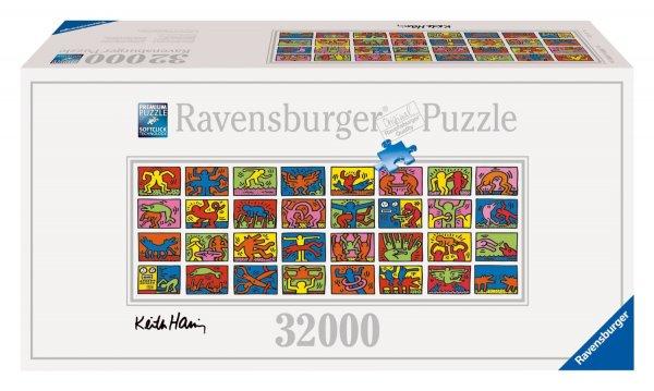 Ravensburger 17838 - Keith Haring: Double Retrospect - 32.000 Teile Puzzle (544x192cm) für 119,53 € @ Amazon.de (Update: Jetzt 151 €, somit nur noch 24 € Ersparnis)