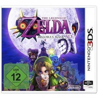 Legend of Zelda: Majora's Mask 3D für 26,98 € (mit 10 € Toys 'R' Us Gutschein)