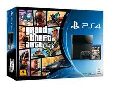 PlayStation 4 + Grand Theft Auto V Bundle @ GameStop