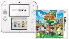 Nintendo 2DS (weiß+rot) inklusive Animal Crossing (Limited Edition) @amazon WHD