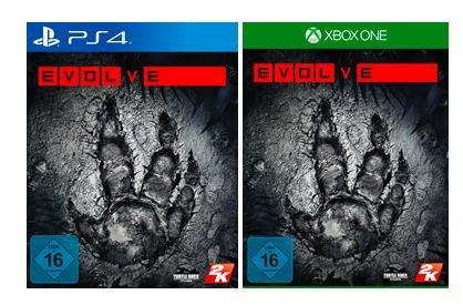 Evolve (PS4/Xbox One) für 34€ @Saturn Bundesweit