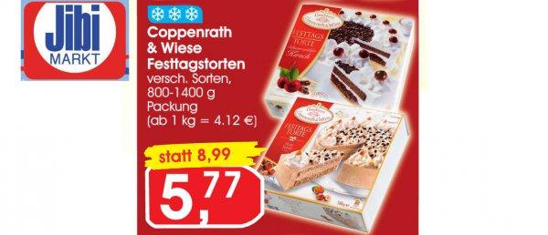 Coppenrath & Wiese Festtagstorten ab 30.03 bei Jibi