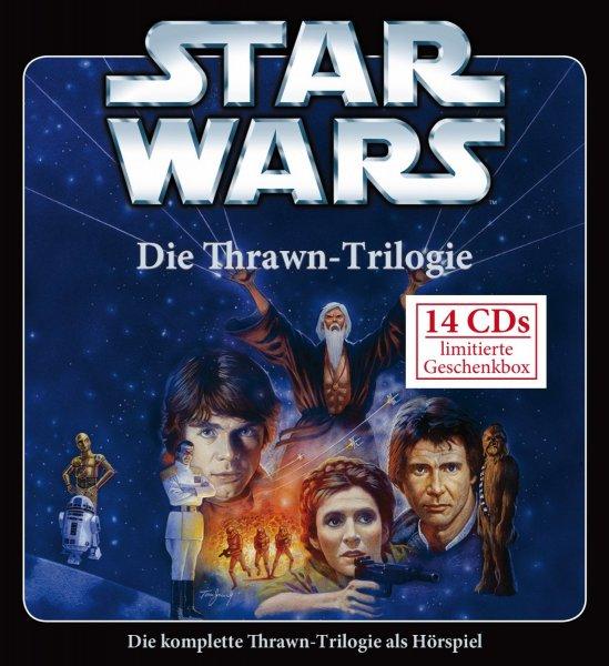 STAR WARS - Die Thrawn Trilogie Box Set 14 Audio CDs weltexklusives Hörspiel [Amazon.de]