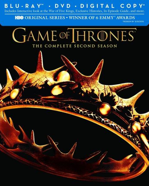 Game of Thrones Staffel 2 [Bluray] 16,90€ bei Amazon mit Prime