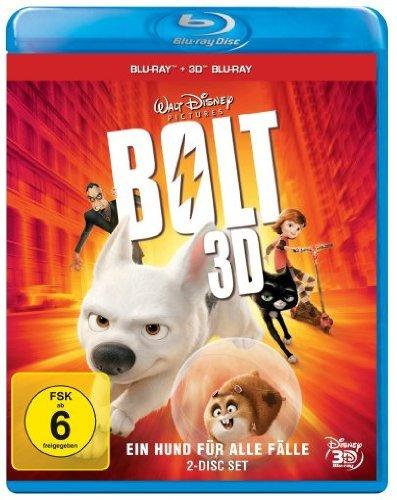 [cede.de] Bolt – Ein Hund für alle Fälle (3D Blu-ray) und weitere zum gleichen Preis --> Frankenweenie 3D, Fright Night 3D, Monster AG 3D