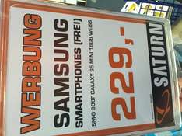 Samsung Galaxy S5 Mini white Saturn Stuttgart