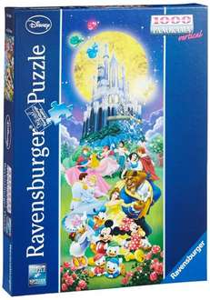 Ravensburger 15056 - Disney Castle, 1000 Teile Panorama Puzzle für 6,82€ bei Amazon (Prime)