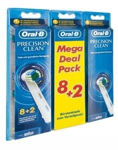 10x Oral-B Aufsteckbürste Precision Clean für 14,99€ @ Otto