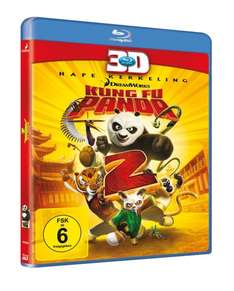 [3D Blu-ray] Kung Fu Panda 2 - für 9,97 Blitzangebot @ Amazon.de [Prime] Blu ray