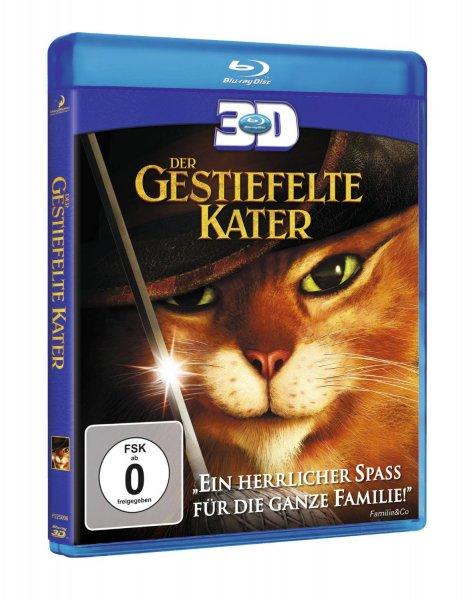 [3D Blu-ray] Der gestiefelte Kater - für 9,97 Blitzangebote @ Amazon.de [Prime] Blu Ray