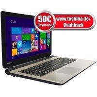 [NBB] Toshiba Satellite L50-B-1TD (15,6'' FHD, i7-4510U, 8GB RAM, AMD R7 M260, 256GB SSD) für effektiv 668€ (durch Toshiba-Cashback) = 22% Ersparnis