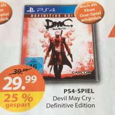 [Müller] Devil May Cry - Definitive Edition für Xbox One/PS4 für 29,99€