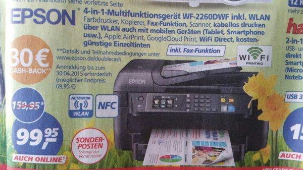 Epson WF 2660DWF für effektiv 59,95