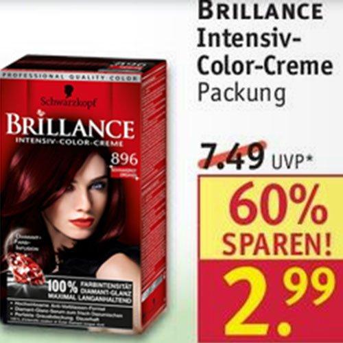 BRILLANCE Intensive-Color-Creme von Schwarzkopf für nur 2,99 [Rossmann]