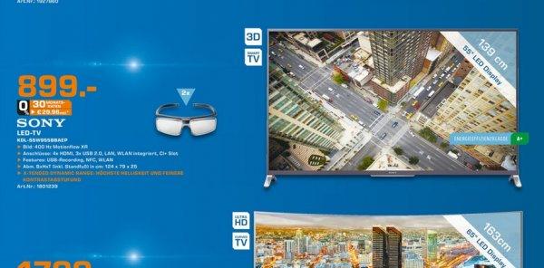 [Lokal MG Minto Saturn] Sony KDL-55W955B für 899€ idealo 1279€