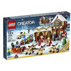 LEGO 10245 Creator Weihnachtliche Werkstatt, bei Intertoys.de für 63,74 €